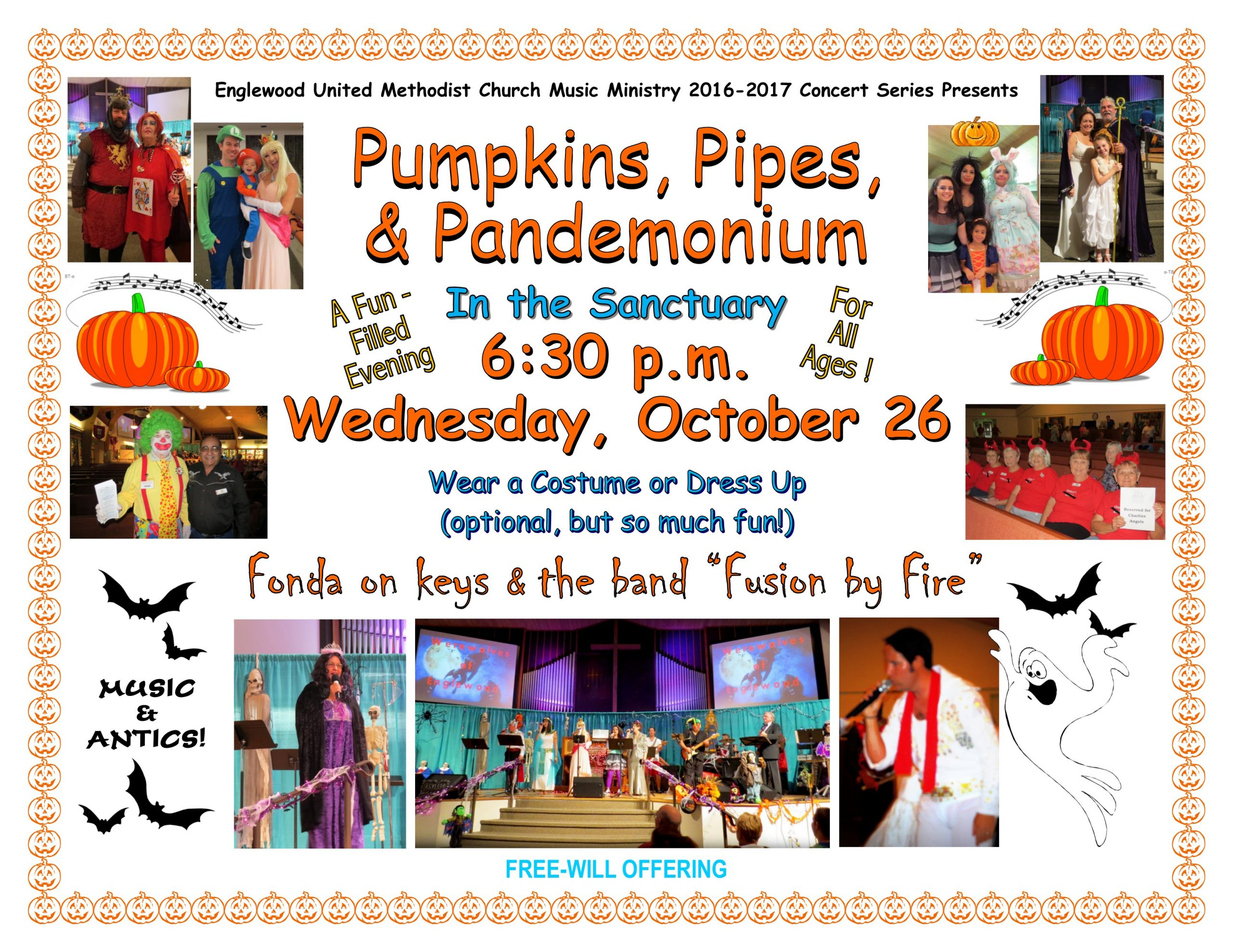 Pumpkins, Pipes, & Pandemonium
