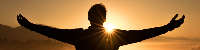 Man with Outstretched Arms - Celebrate Recovery