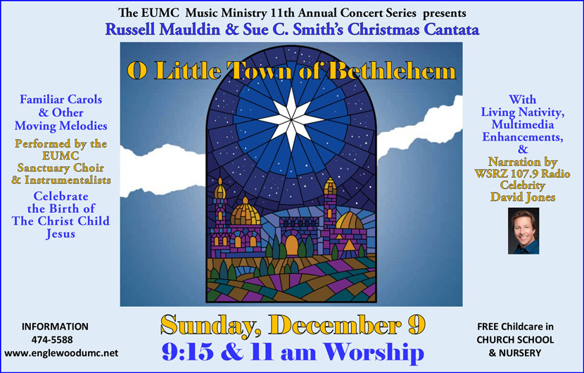 O Little Town of Bethlehem Cantata Flyer