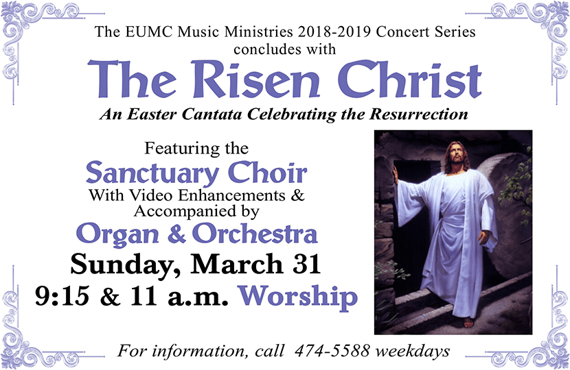 Easter Cantata 2019 Flyer