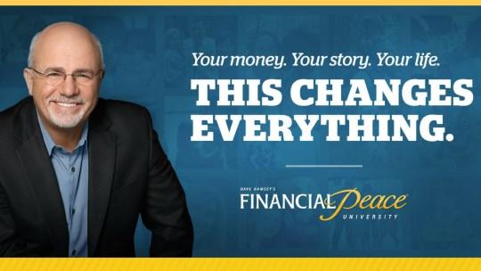 Dave Ramsey's Financial Peace University Flyer