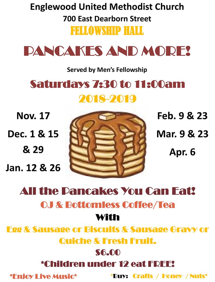 Pancake Brunch Flyer 2018-19