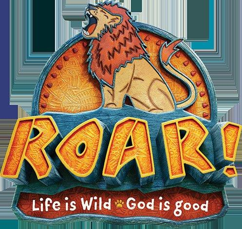 Roar - Vacation Bible School 2019 Logo