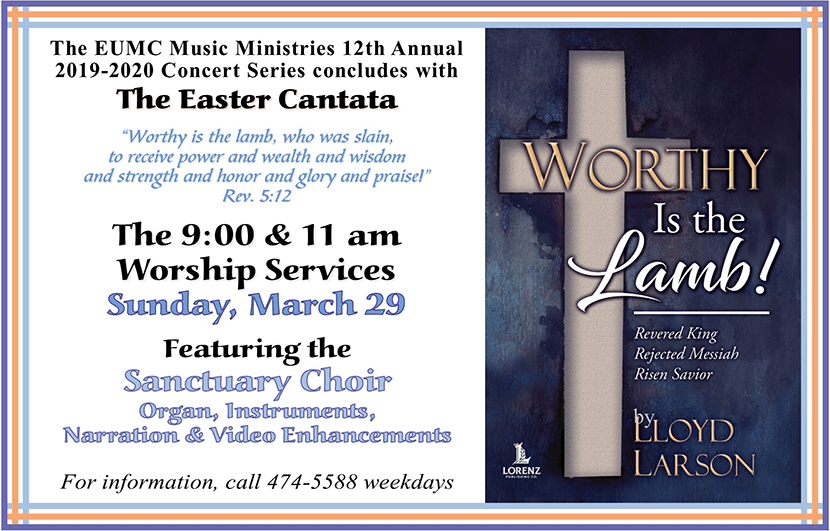 Easter Cantata 2020 Flyer