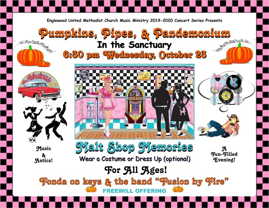 Pumpkins, Pipes and Pandemonium - Malt Shop Memories