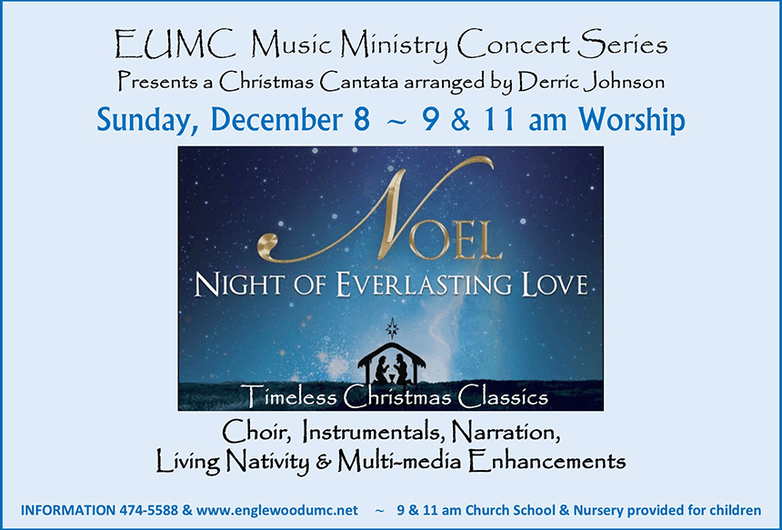 Noel Night of Everlasting Love Christmas Cantata Flyer