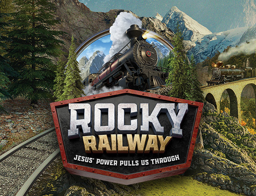 VBS Rocky Railway Banner