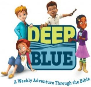 Logo - Deep Blue - a Weekly Adventure Through the Bible