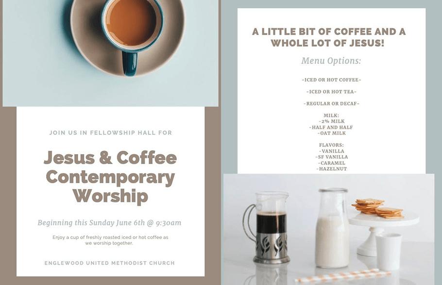 Jesus and Coffee Contemporary Service